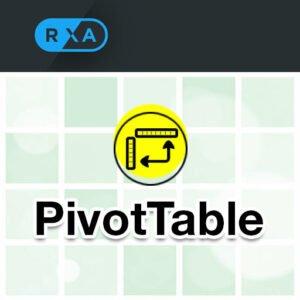 App Icon Pivottable